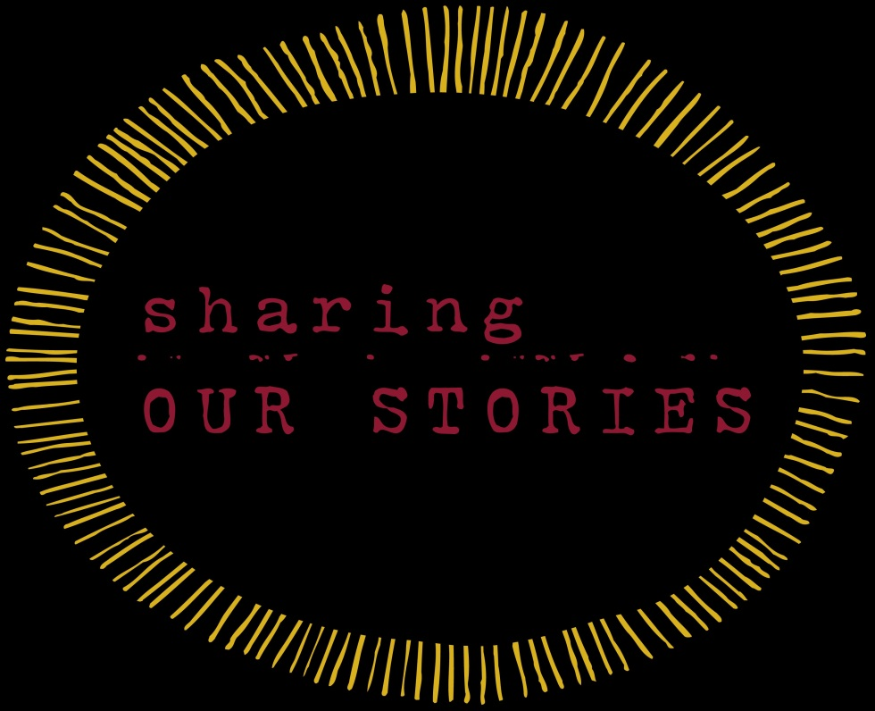 sharing stories - black